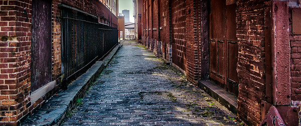 Rochester Alley Way Old Manufacturing District