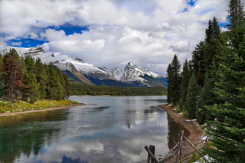 Maligne Lake Landscape HDR