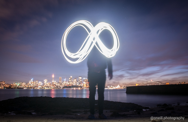 Infinity Light Painting