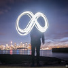 Infinity Light Painting