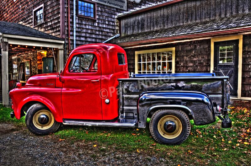 Dodge Pickup Jack's Barn (grunge)