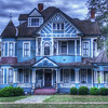 One of many beautiful Victorian mansions in Bainbridge, GA.