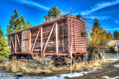 Cottonwood: Old Train