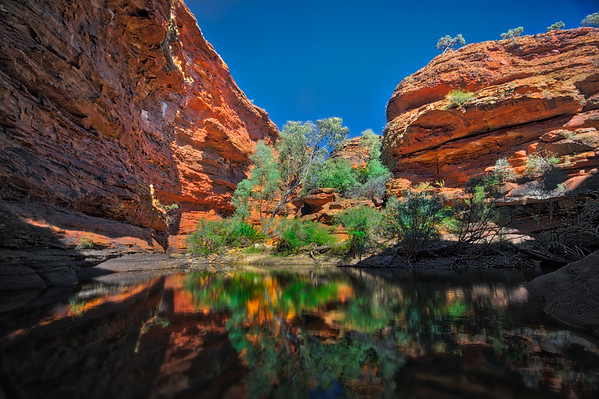 Kings Canyon Oasis - Australia