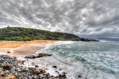 Waimea Beach, North Shore Oahu