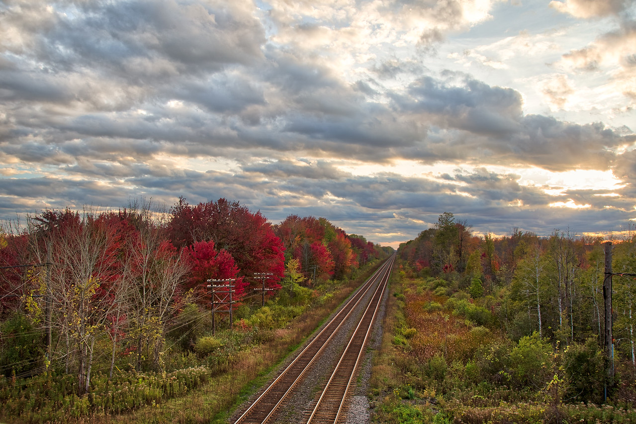 Canadian Railroad HDR