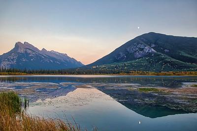 Vermilion Lakes HDR