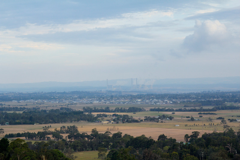Traralgon in the late afternoon 4-4-15