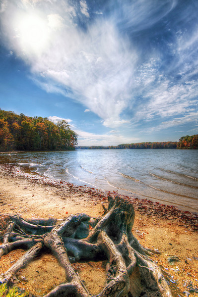 Lake Anna Autumn <br /> A crisp Fall day on the shore of Lake Anna, Virginia.