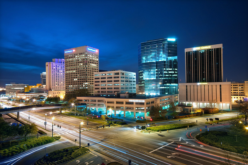 Norfolk, Downtown Skyline