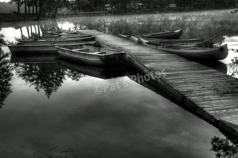 Boats @ Alpine Lake, NY