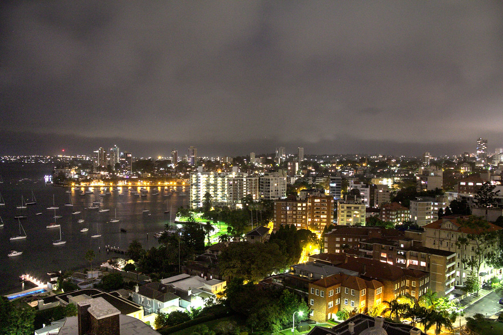 Mid night Potts Point Sydney From 903 Macleay