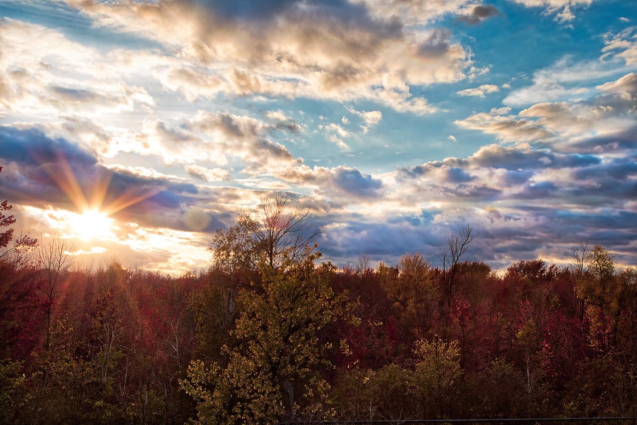 Sunset Sky HDR