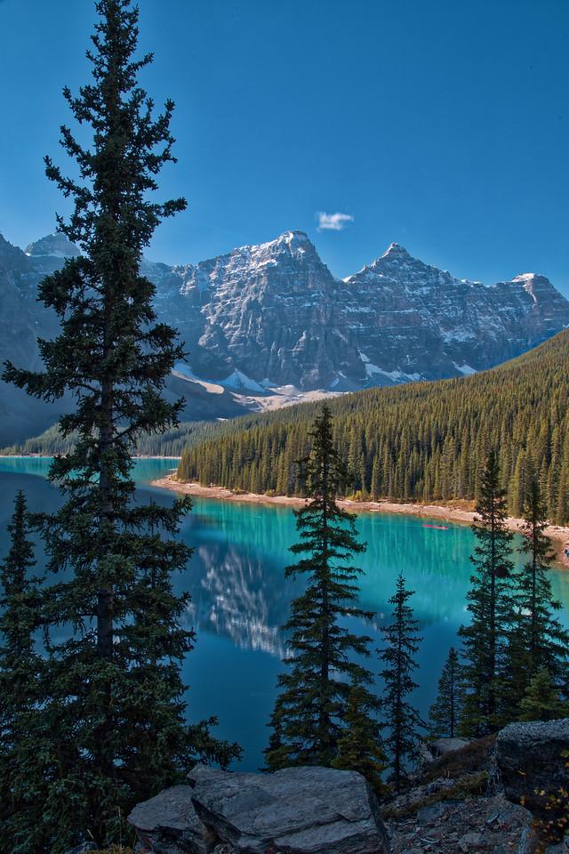 Moraine Lake Landscape HDR