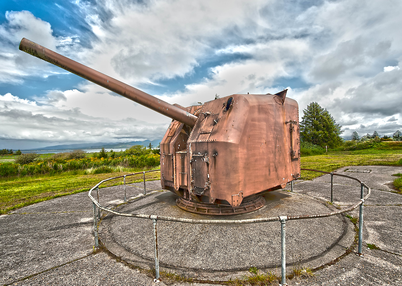 Fort Stevens, Oregon, gun