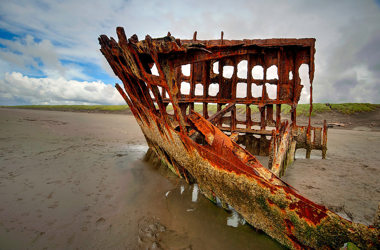ship wreck, Fort Stevens, Oregon