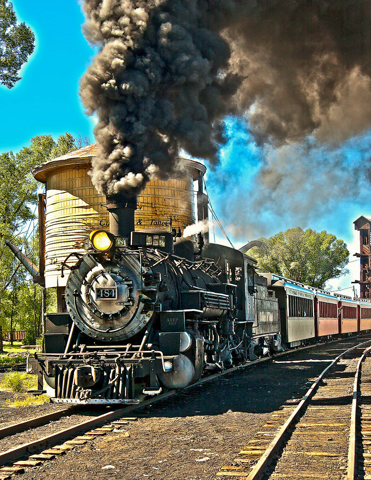Train in New Mexico