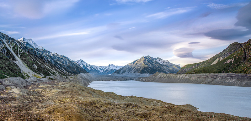 t a s m a n | aoraki/mt cook national park, new zealand