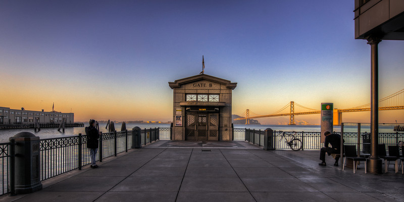 the gate at the end of the universe | san francisco