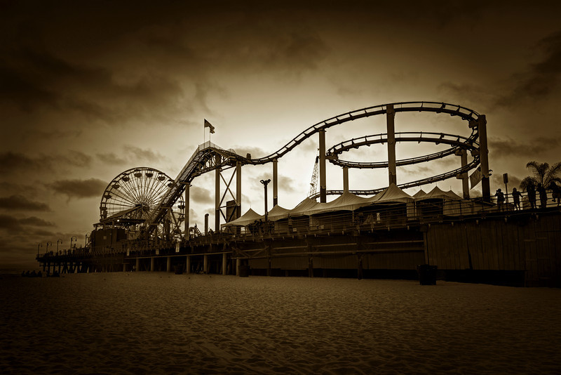 the pier | santa monica, california