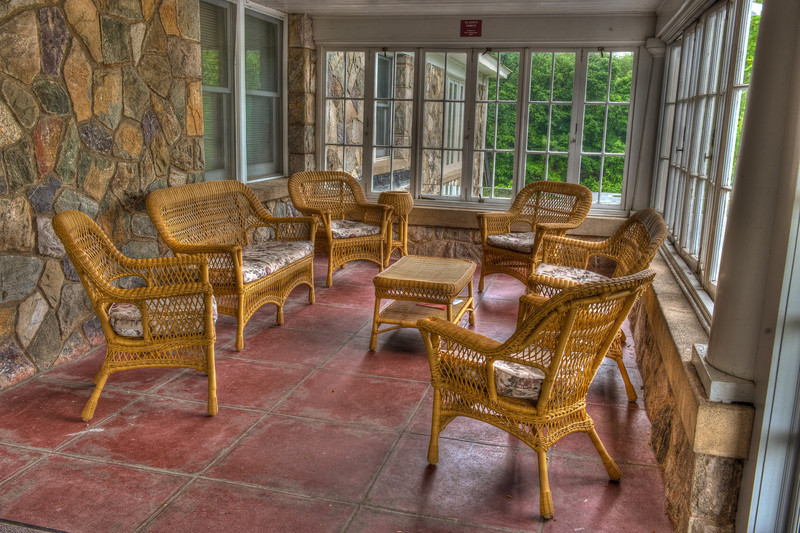 West Wing Porch at Warwick Conference Center....shot in HDR