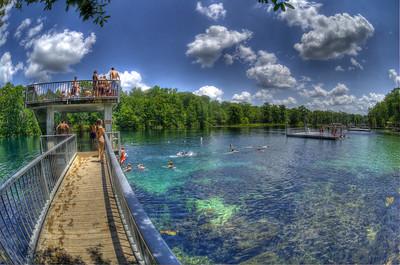 Wakulla Swim Platform