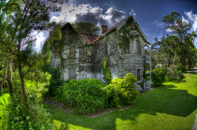 Brooksvile, Florida old house