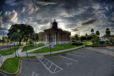 Inverness, Florida old courthouse