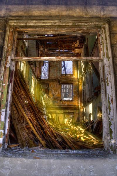 M Russak Ruins
