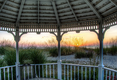 Sunrise in the Gazebo