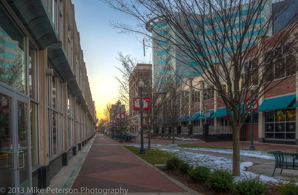 The Mall Sidewalk