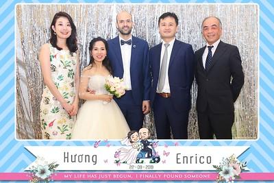 Huong & Enrico wedding instant print photo booth @ Queen Bee Luxury Hanoi | Chụp hình in ảnh lấy ngay Tiệc cưới tại Hà Nội | Photobooth Hanoi
