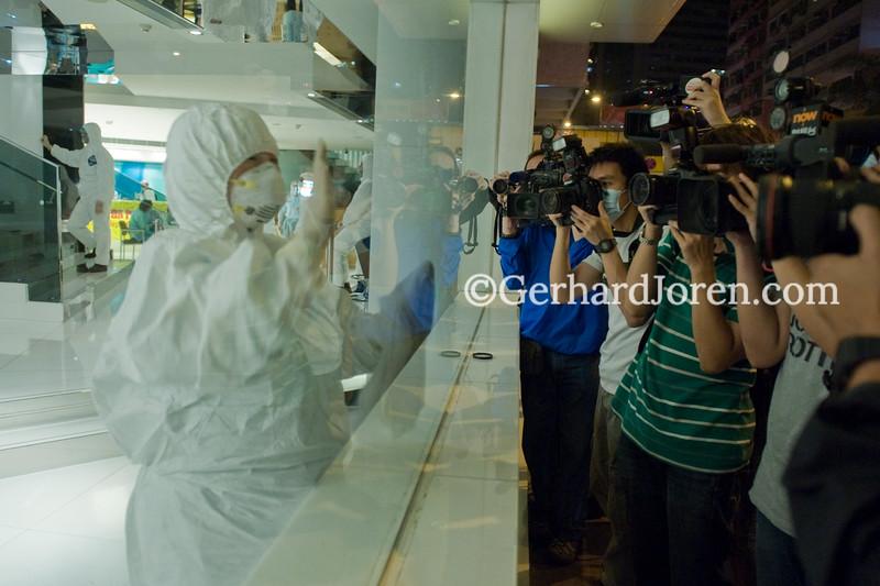 Swine Flu (H1N1) outbreak at hotel in Hong Kong