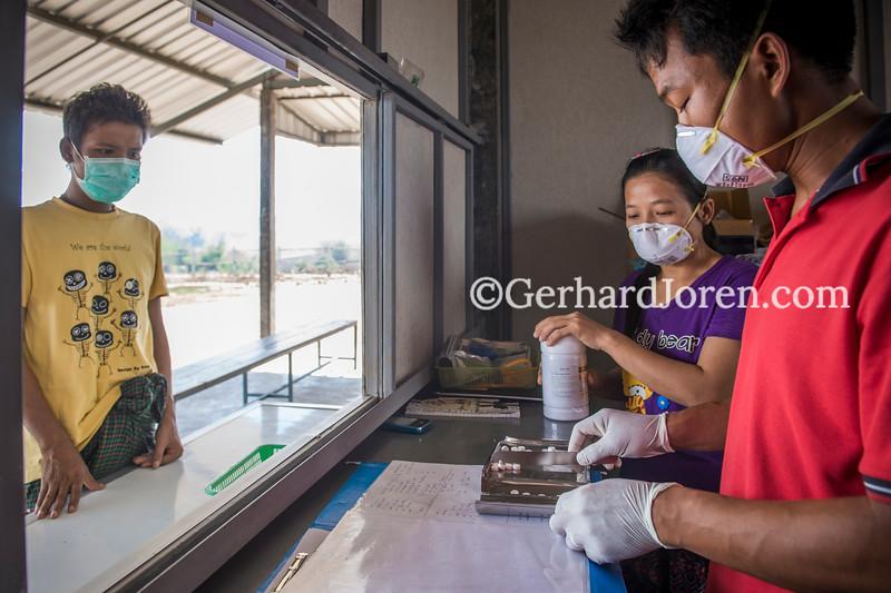 Koko TB Clinic,  Myanmar