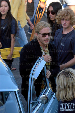 The 28-year-old actor was found dead in new york on Tuesday 22, 2008. On this photo, actor Heath Ledger during the set of Lords of Dogtown in Marina Del ray , California on May 4, 2004.