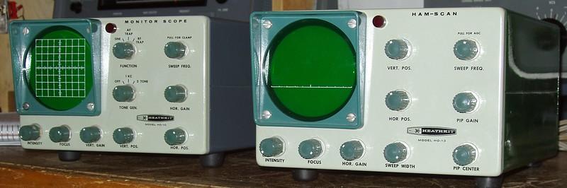 The units as originally received.