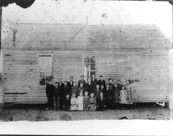 Arwine School, Hurst 1879