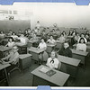 "North Euless Elementary:  Mrs. McNabb's 6th grade class.<br /> We moved into the new bldg. in Jan. '59.  Sid May had been our classroom<br /> teacher at the old school, then became our Principal when we moved.  Pat May<br /> taught 1st grade, down the hall.  (There was only 1 hall besides the adm.<br /> wing of this ""E"" shaped school that year.<br /> I'm in the middle row, 2nd from back, behind boy with glasses. I became the Music Teacher at North Euless from 1979 - 2003.<br /> - Submitted by: Lynnelle (Morelock) Rea"