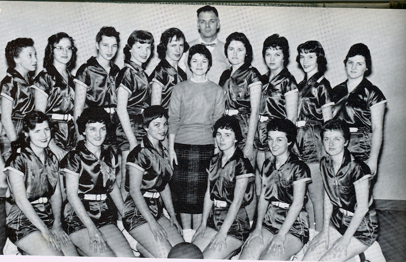 Bell Girls Basketball 1959