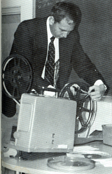 Bell: film projector 1974