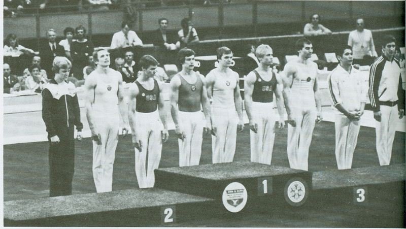 US Gym team 1979
