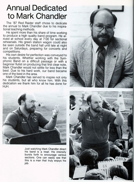 Hurst JH: Mark Chandler 1987