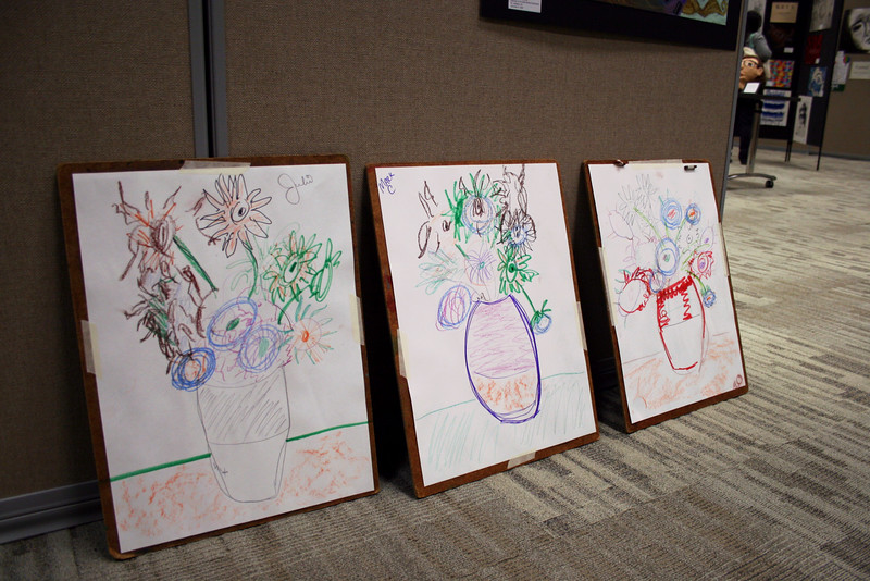 Drawing done by members of the school board.
