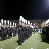 The L.D. Bell band at halftime.