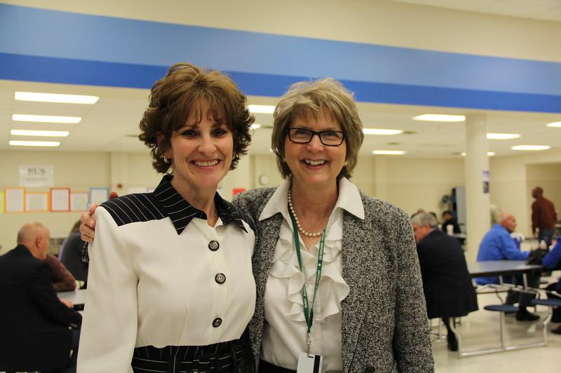 Debbe Roesler with Diane Cramer