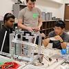Robotics students build robots.