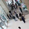 Visitors enjoying the showcase.