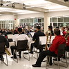 Students from the Trinity band perform.