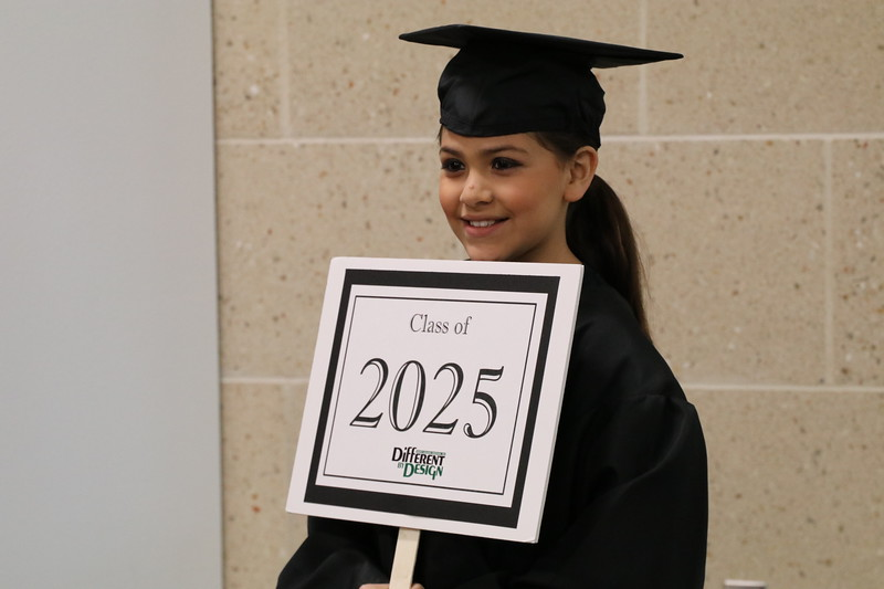 A student representative for the graduating class of 2025.
