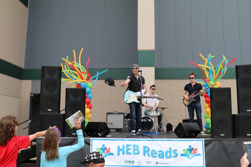 A live band entertains guests.